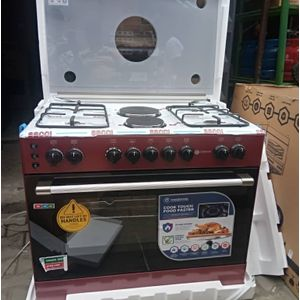 Haier Thermocool 4 Gas Burner 2 Electric Cooker 90 X 60cm