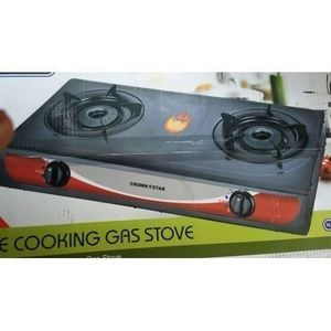 Master Chef 2 Burner Table Top Gas Cooker With Auto-ignition