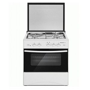 Maxi 4 GAS BURNER GRAY STANDING COOKER > AUTO-IGNITION+OVEN+LAMP