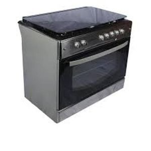 Maxi Free Standing Gas Cooker- MAXI 60x60 (4B) Basic Black Grey