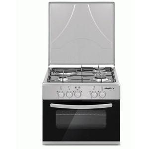 Maxi GAS And ELECTRIC COOKER - (4G+2E) - Inox