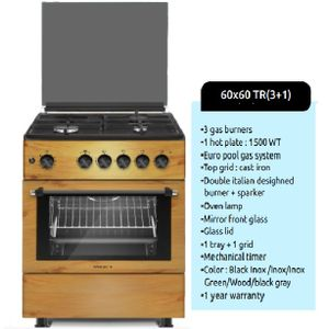 Maxi 60*60 Standing Cooker 3 Gas 1 Electric