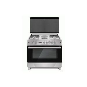Maxi GAS COOKER 60X60 (4 BURNER) BASIC BLACK GREY