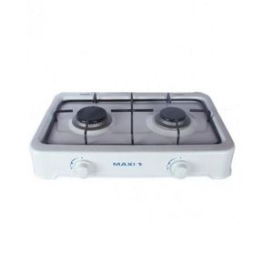 Maxi  60*90 4 Gas + 2 Electric Ignition INOX Gas Cooker