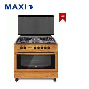 Maxi Gas Cooker 6060 T-840 Black