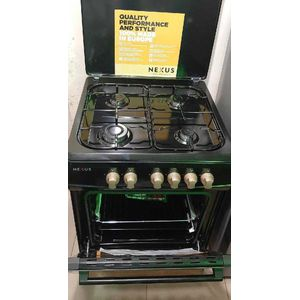 Nexus Standing Gas Cooker Nx-6000(2+2) Gas Cooker    60 X 60 - Stainless Steel