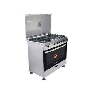 Polystar 4 Gas Burner +2 Hot Plate With Oven Grill Cooker  PVFS-90G2