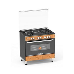 Polystar 4 Gas Burner + 1 Hot Plate, PVWD-960G1