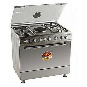 Polystar 4Gas Burner 1 Hot Plate With Oven Grill Cooker -PVFS-80EG1