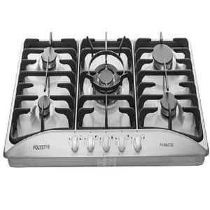 Polystar Stainless 5 Burner Table Top Gas Cooker - PV-WA0788