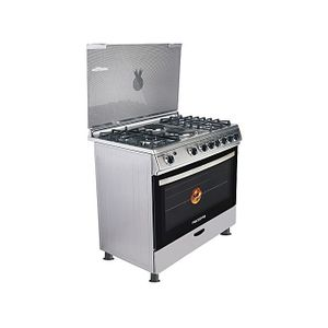 Polystar 4 Gas Burner +2 Hot Plate With Oven Grill Cooker