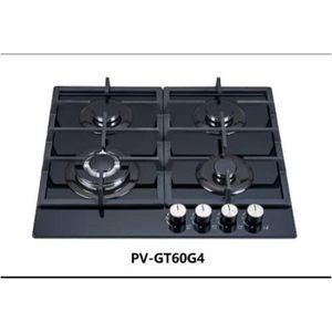 Polystar 4 Burner Built-in Gas Hob Glass Cooktop