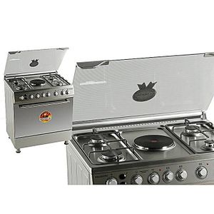 Polystar 4Gas Burner 1 Hot Plate With Oven Grill Cooker LAGOS ONLY