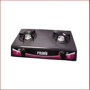 Pyramid Gas Cooker Stove With Two Burners
