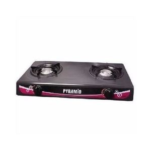 Pyramid Table Top Gas Cooker-Double Burner