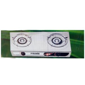 Pyramid DOUBLE GAS COOKER AUTO-IGNITION