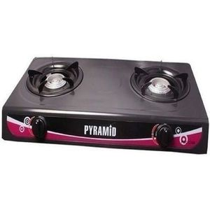 Pyramid Auto Ignition Double Burner Table Gas Cooker