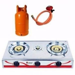 Saisho Three Burner Gas Stove