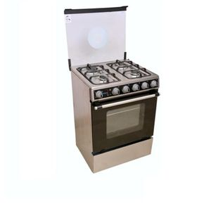 Scanfrost Standing Gas Cooker (3 Gas & 1 Electric) - Silver