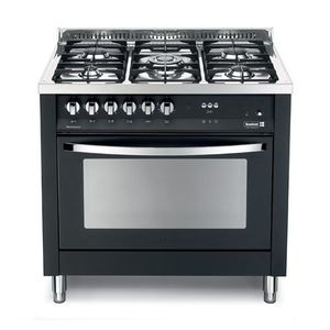 Scanfrost 5 Gas Burners Gas Cooker - Silver