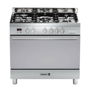 Scanfrost Semi Professional 5 Burner Gas Cooker SFCTPD95 STAINLESS STEEL (1 WOK + 4 NORMAL)