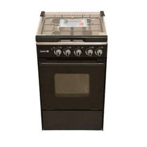 Scanfrost 4 Burner Gas Cooker With Oven – SFC5402 - Black