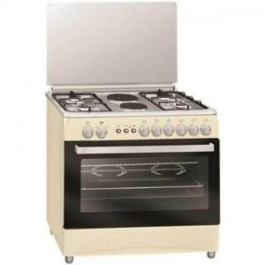 Scanfrost 6-Burner Gas Cooker SFC9426 NE (4 Gas + 2 Electric)