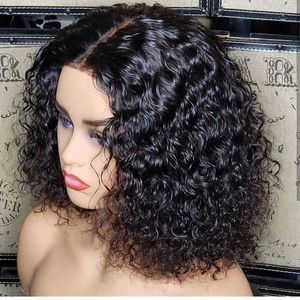 BRAZILIAN ,JERRY CURLS HAIR WIG,WITH CLOSURE