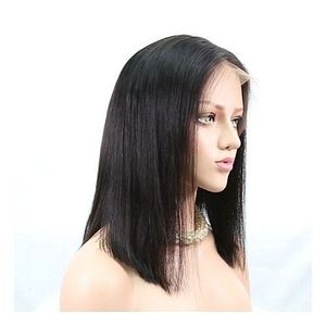 Long Brazilian Straight Wig With Closure