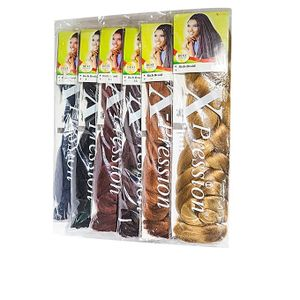 Expression Rich Braid-Colour 4,27 And 30 - Hair Designs,