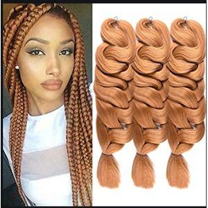 Expression Hair Attachment- Ultra Braid 4 Packs Set- Colour 1