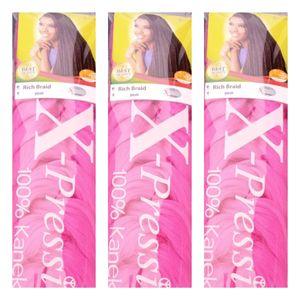 Expression Xpression Multi Crotchet Braids X2 Pieces (Black)