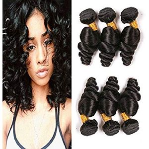 Indian Bouncy Loose Wave Hair 12inches