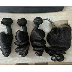 Hair Angel Italian  Hair Weave With Closure