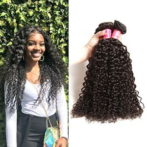Malaysian Loose Wave 4 Bundles Hair Weft With Free Closure