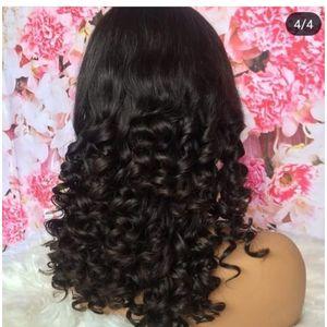 Peruvian Virgin Hair Blunt Cut Peruvian Wig -Natural Color