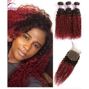 Vietnam Remy Hair Straight Bundles + Closure