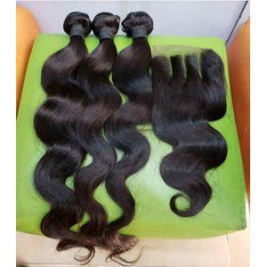Hair Angel Vietnamese Body Wave Hair Bundles With Closure
