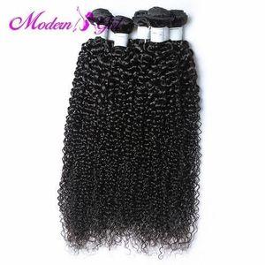 Mongolian Jerry Curl Virgin Hair Full Head Bundle