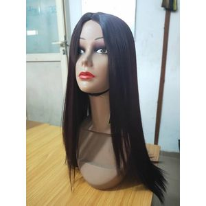 Straight Female Virgin Hair Wig