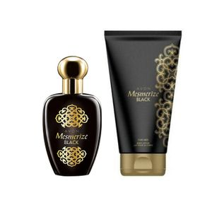 Avon Mesmerize Black Perfume & Body Lotion Combo For Her