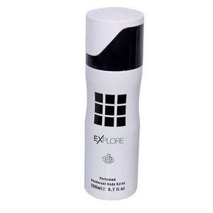 Explore Perfumed Deodorant Body Spray - White/Black