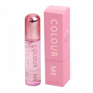 Milton Colour Me Perfume EDP 100ml  For Women - Pink