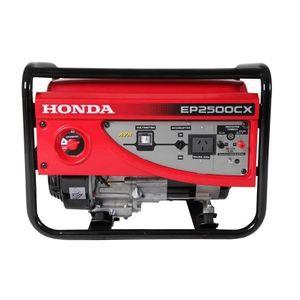 Honda 2.2KvA Manual Generator - Red
