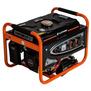 Lutian (Reduced Shipping Fee) 3.8KVA Generator With Key Starter LT3900 - Black