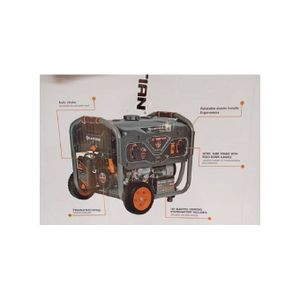 Lutian 6.9KVA Generator With Key Starter + Remote Control - LT6500