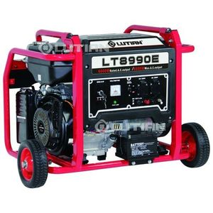 Lutian 9.3KVA Ecological Series Generator With Remote Control - LT10990E - New Model