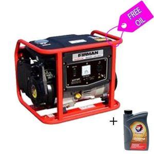 Sumec Firman - 1.8Kva Generator - ECO 1990S  With FREE 1Liter  Oil