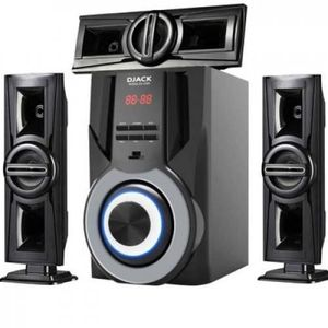 Djack Powerful Bluetooth HomeTheatre DJ-5055+DVD Player