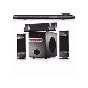 Djack 3.1 BASS Bluetooth Home Theatre DJ-503 And DVD  + FREE Surge